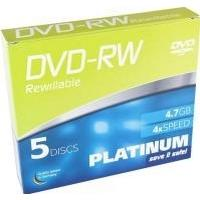 Best Media DVD-RW 4.7GB 4x Slimcase 5-Pack