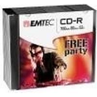 Emtec CD-R 700MB 52x Slimcase 10-Pack