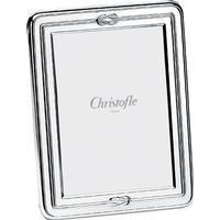 David Shuttle Christofle Egea Silver Plate Picture Frame, 13cm x 18cm | 42 56 670