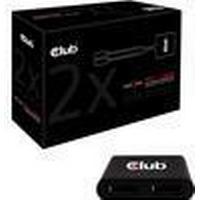 Club 3D CSV-5200 2-Port USB 3.0/3.1 Extern