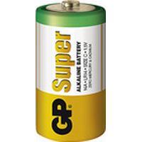 Batteri GP Super Alkaline C/14A/LR14 2/fp