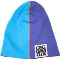 Geggamoja TWO COLOR CAP BLUE/RED Stl Baby-Vuxen Mössa