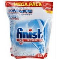 Finish Powerball Power & Pure Dishwashing Tablet 83-pack