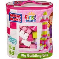 Mega Bloks First Builders Building Bag 80pcs