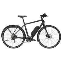Trek Conduit + 2018 Electric Hybrid Bike | Black - 17.5 Inch