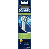 Oral-B Cross Action tandbørstehoveder - 3 stk.