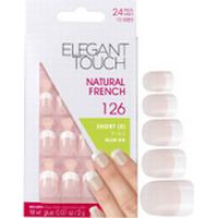 Elegant Touch Natural French Nails #126 24-pack