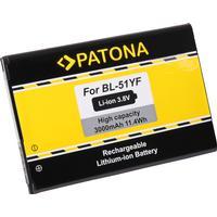 eQuipIT Batteri LG G4 BL-51YF 3000mAh