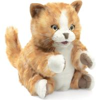 Folkmanis Kitten Orange Tabby 2845