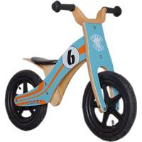 "Rebel Kidz Wood Air Springcyklar Barn 12"" Le Mans orange/turkos 12"" Springcyklar 2017"