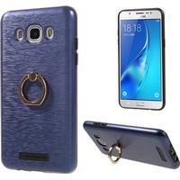 Motomo skal med stativ för Samsung Galaxy J5 (2016) - mörkblå