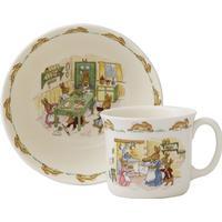 Royal Doulton Bunnykins Nurseryware Infant Set 2pcs