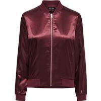 Only Shiny Bomber Jacket Brown/Fudge (15132880)
