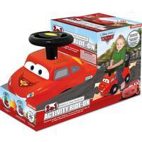 Kiddieland Disney Pixar Cars Gåbil Activity Ride on 2 in 1