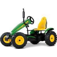 John Deere Pedal Go Kart - Green & Yellow Go Kart For Kids - Berg John Deere Bfr-3