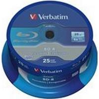 Verbatim BD-R 25GB 6x Spindle 25-Pack