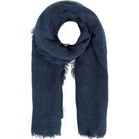 Pieces Solid Woven Scarf Blue/Navy Blazer
