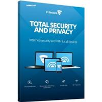 F-Secure Total Security and Privacy - 3 enheter / 1 år