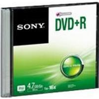 Sony DVD+R 4.7GB 16x Slimcase 1-Pack