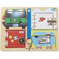 Låsebræt m/ koder og nøgle