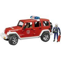 Bruder Jeep Rubicon Fire Rescue with Fireman Vehicle 02528