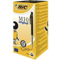 Bic M10 Retractable Ballpoint Pen Black 50-pack