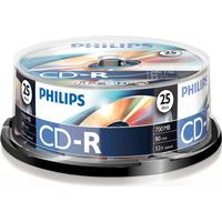 Philips CD-R 700MB 52x Spindle 25-Pack