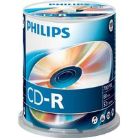 Philips CD-R 700MB 52x Spindle 100-Pack