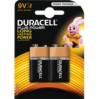 Duracell 9V Plus Power (2 pcs)