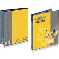 Ultra Pro Pikachu 4-Pocket Portfolio for Pokémon