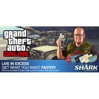 Grand Theft Auto Online: Bull Shark Cash Card