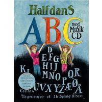 Halfdans abc med musik cd, Hardback