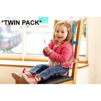Grobag The Gro Company Gro Chair Harness (Jazz Stripe) TWIN Pack