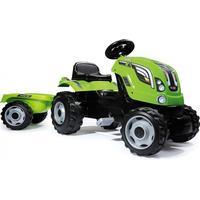 Smoby Farmer XL Grön Traktor med Släp