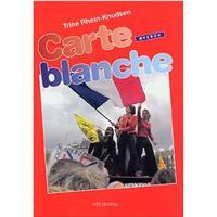 Carte blanche: grundbog, Øvebog, Hæfte