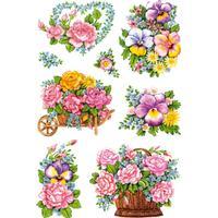 Herma Stickers Decor Nostalgic Flower Pots