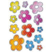 Herma Stickers Decor Flowers Silver
