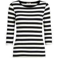 Pieces 3/4 Sleeved Blouse Black/Black (17073682)
