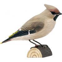 Wild Life Garden Deco Bird Sidensvans Prydnadsfigur