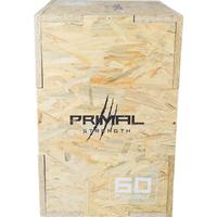 Primal Strength Primal plyobox vändbar i trä