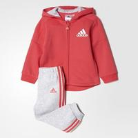 Adidas Style - Core Pink / Light Grey Heather (BP5310)