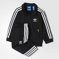 Adidas Firebird Track Suit - Black / White (BK4142)