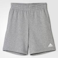 Adidas Essentials Logo Shorts - Core Heather (BP8793)