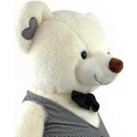Oppustelige Bamse Tuxedo Bear 60cm