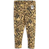 Mini Rodini Basic Leopard Leggings - Beige (1923012613)