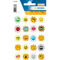 Herma Stickers Magic Crazy Suns Puffy