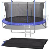 vidaXL Safety Net PE 457cm