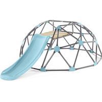 Plum Metal Dome Klatrestativ med Rutsjebane