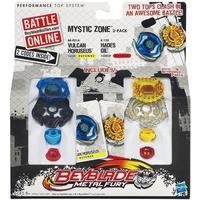 Hasbro Beyblade Mystic Zone Vulcan Horuseus & Hades Gil
