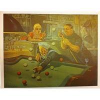 Poster, Sømænd på Cafe ,48x60cm